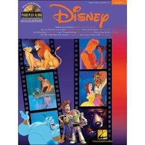 Hal Leonard Disney Piano Play-Along Volume 5 Book/CD arranged for piano, vocal, and guitar (P/V/G)