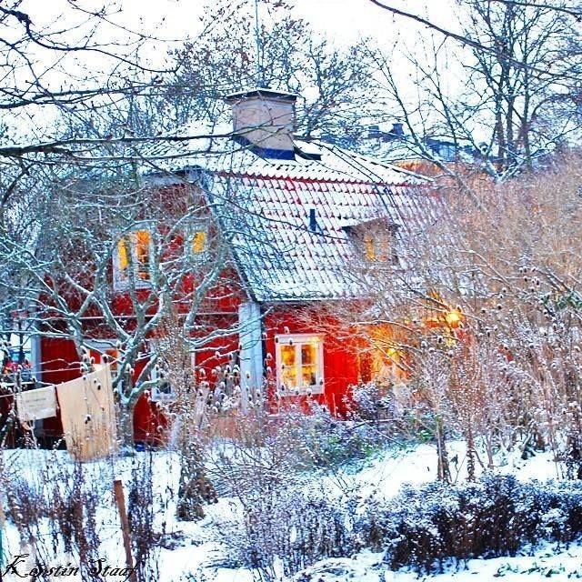Kerstin Staaf  Snowtime ☆¯`☆¯`☆ Stockholm/Sweden