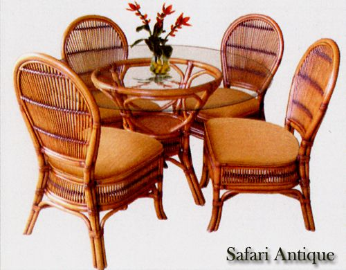 Rattan And Wicker Dining Room Furniture Sets  Dining Tables And Delectable Wicker Dining Room Sets Decorating Design