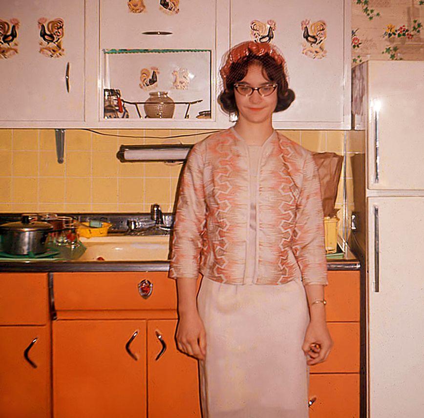 Women Kitchen: 1960s Fab Kitchen Omg