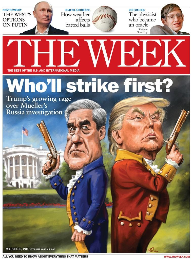 The Week, March 30, 2018 | Magazines | Pdf magazines, Cool