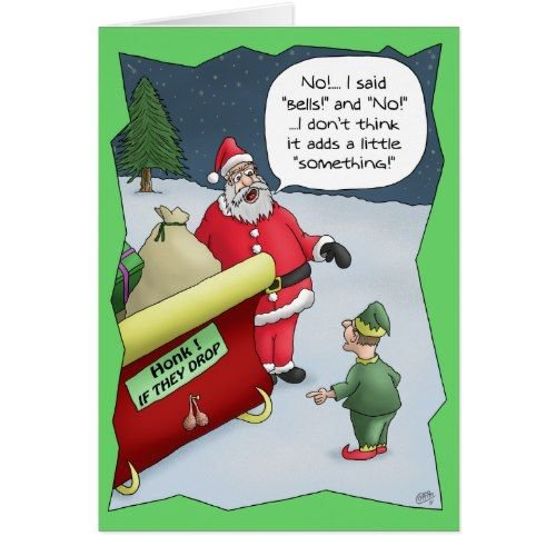 Funny Christmas Cards: Hard of Hearing Holiday Card | Pinterest ...