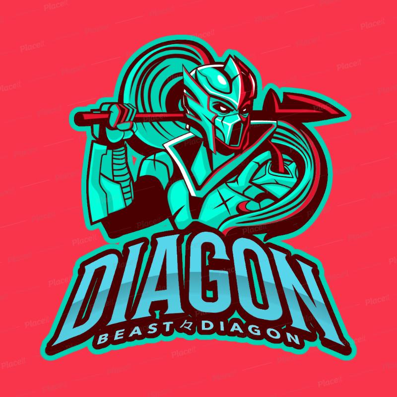 Placeit Dragon Gaming Logo Maker Logo maker, Logos