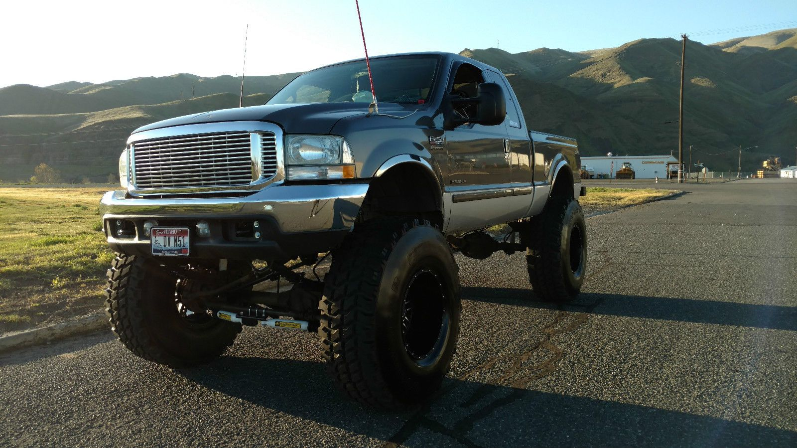 2002 ford superduty lifted diesel monster mudder for sale