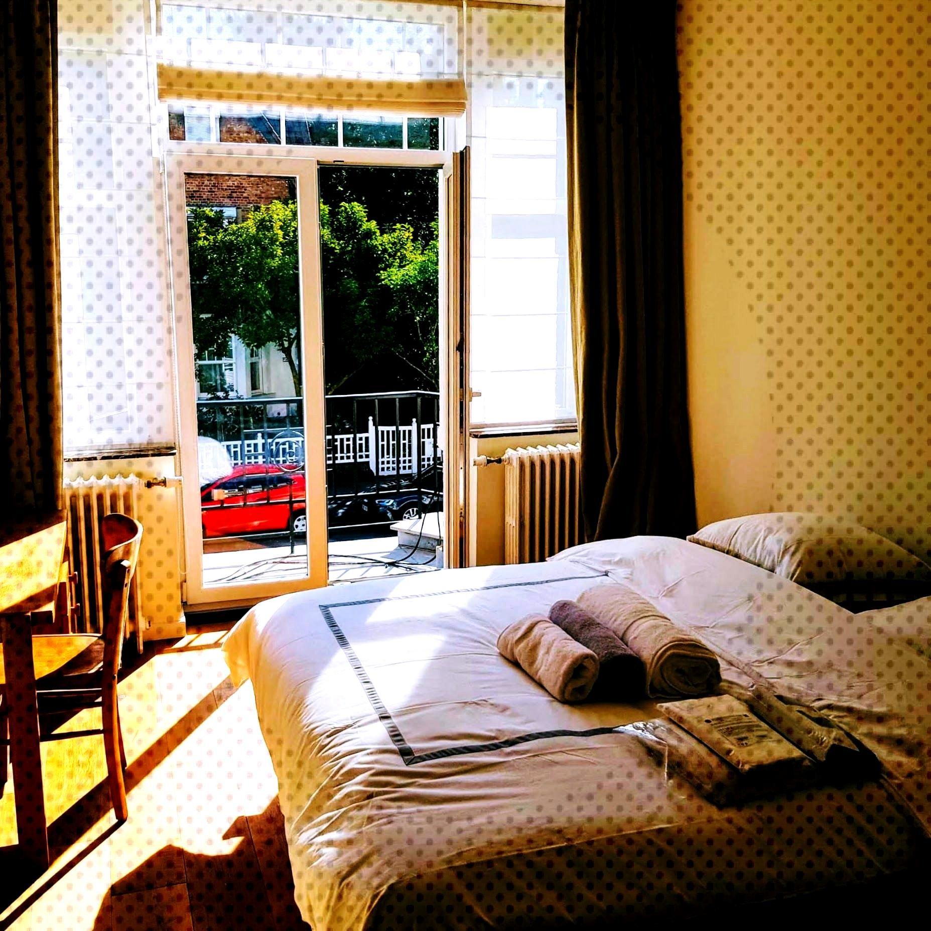 4 rooms colocation in big house just renovated (2019. Residential area in the North of Brussels.