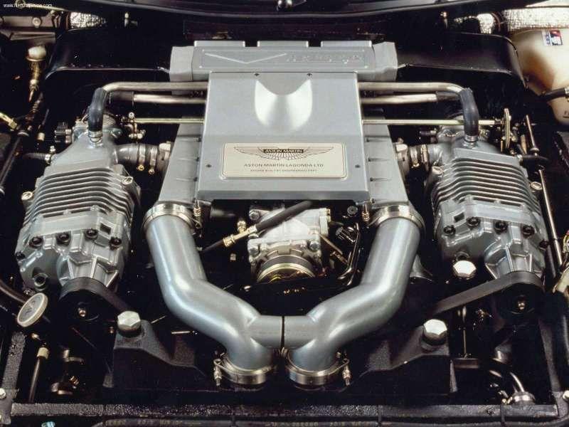 90 S Aston Martin Vantage Engine 600hp Twin Supercharged V8 Carros