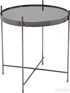 Bijzettafel Blowfeld - Zwart 43cm is een tafel met een chic uiterlijk en komt uit de collectie van Kare Design. Bestel deze tafel vandaag nog op Furnies.nl!