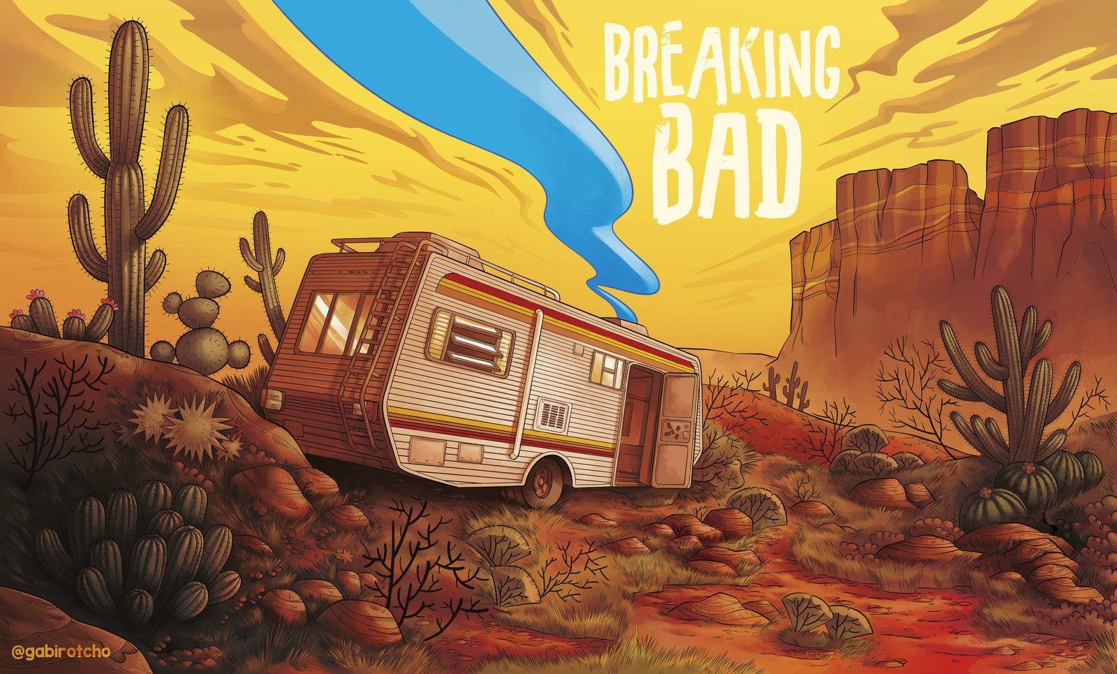 Breaking Bad Gabirotcho On Artstation At Https Www Artstation Com Artwork Lpqvl Breaking Bad Art Breaking Bad Poster Breaking Bad