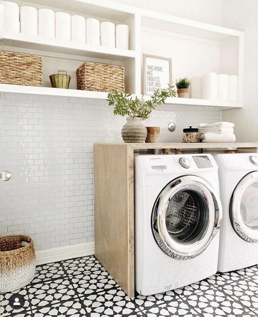 Pin by Ashly Marie Tull on Homes in 2020 Laundry room