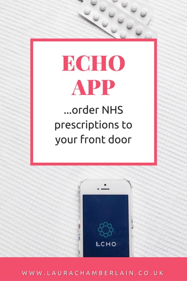Echo prescription app review (UK) order NHS prescriptions