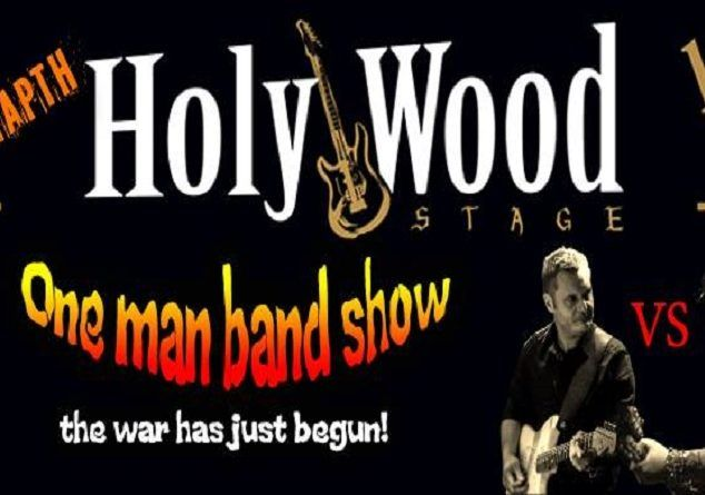 One Man Band Show *the war* στο HolyWood Stage, 26/04