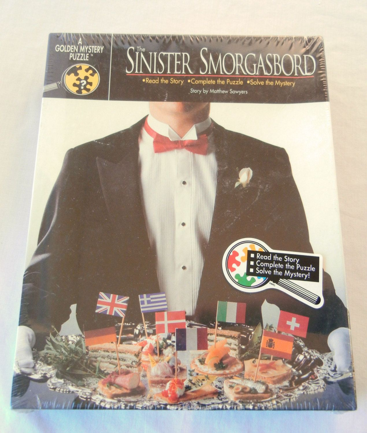 Sinister Smorgasbord Mystery Puzzle Party Game, Still ...