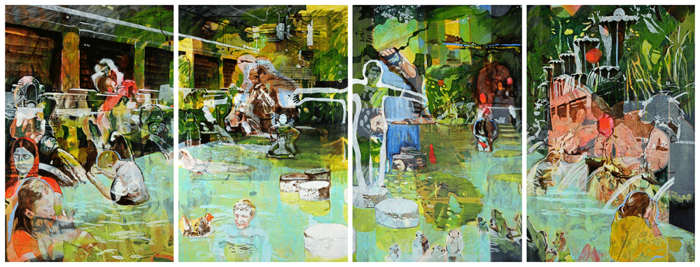 Tanja Maria Ernst - #painting #contemporary art #well