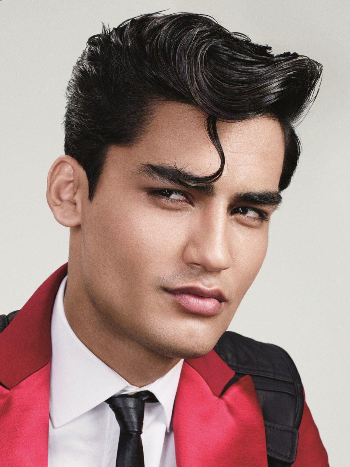 Die moderne Elvis-Tolle  Haartolle, Frisuren, Männer frisuren