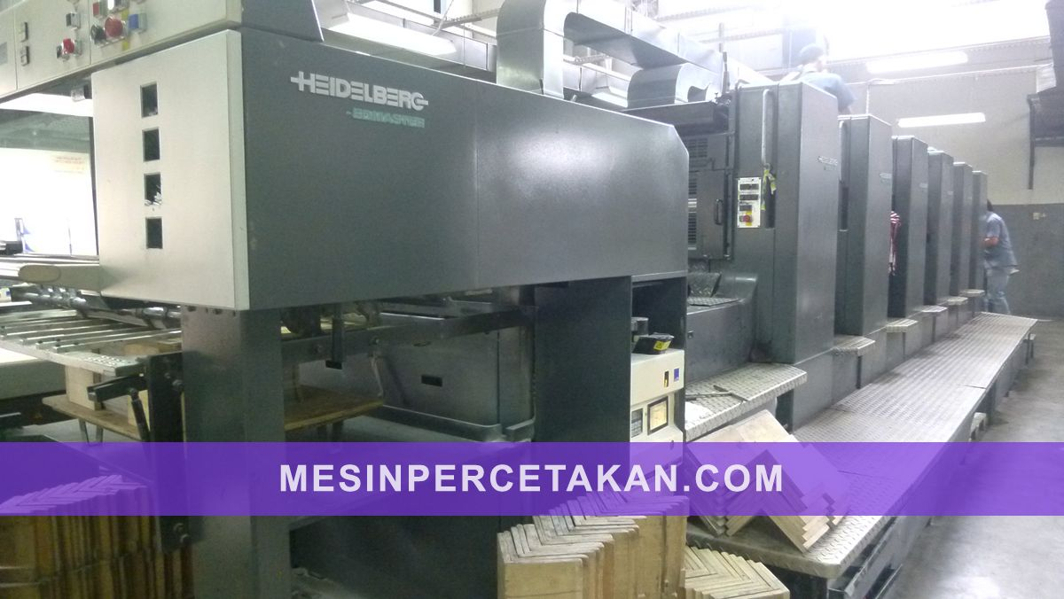 Speedmaster CD 102 6 Color Heidelberg