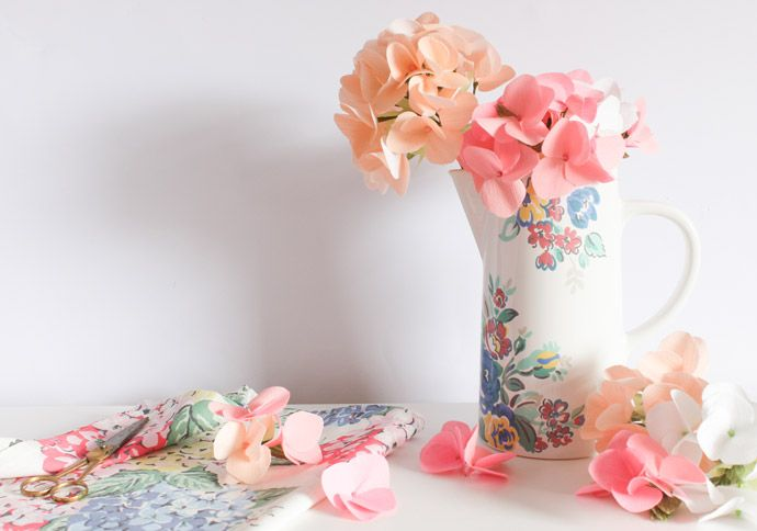 Mother's Day Make: Paper Hydrangea
