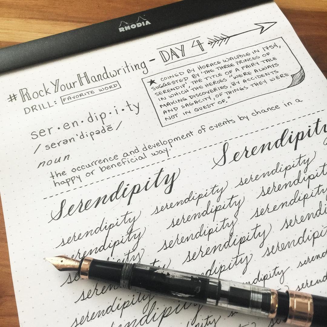 How I Practice My Handwriting
