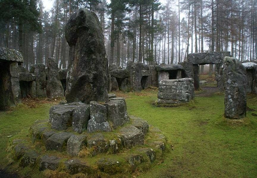 Druid S Temple Ilton North Yorkshire England Fiontan