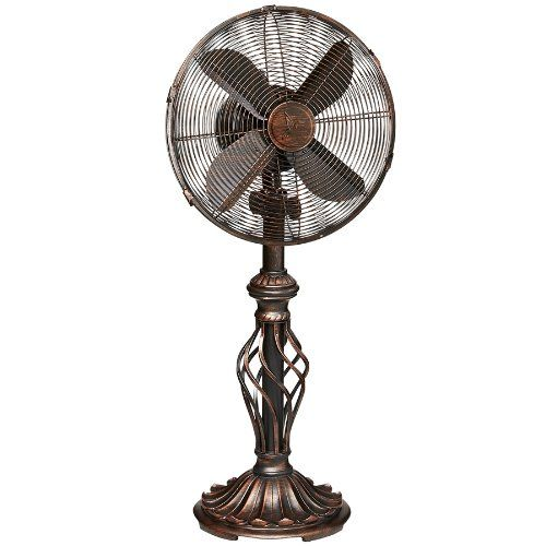 Buy Deco Breeze Table Top Fan Prestige Rustica Topvintagestyle Com Free Delivery Possible On Eligible Pur Table Fan Deco Breeze Fan Standing Fans