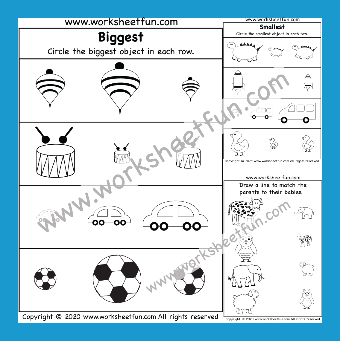Preschool Worksheets In