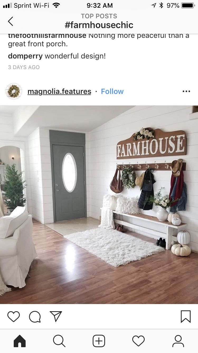 Pin by michelle moravec on decorating Farmhouse chic