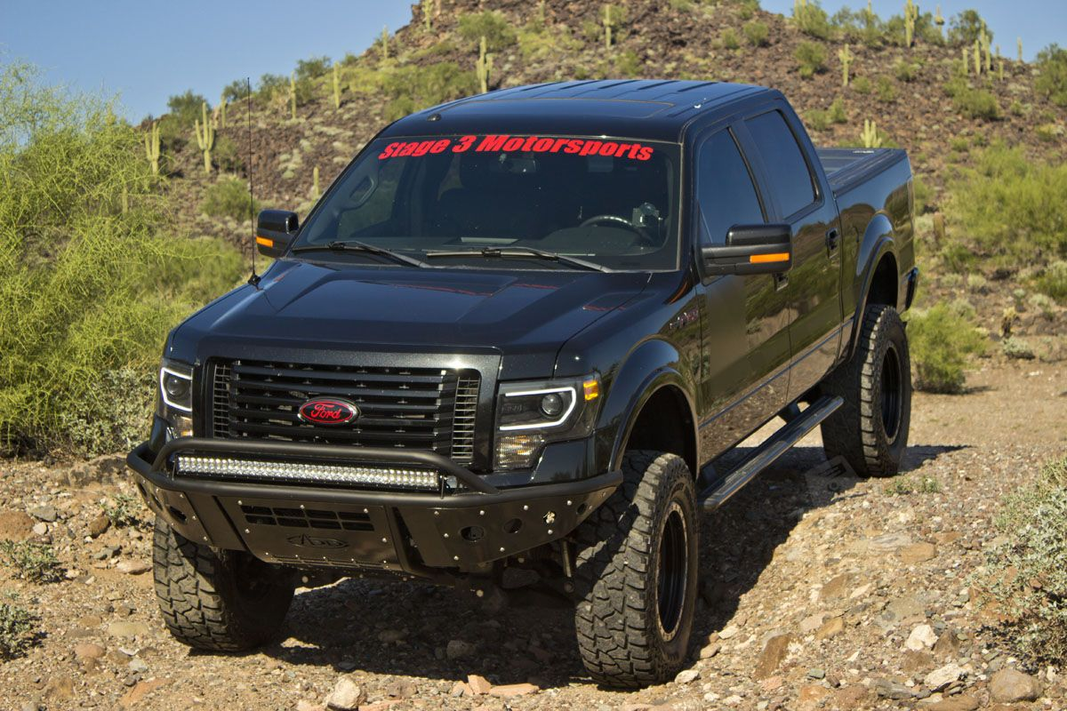 2012 F150 Ecoboost With 8 Inch Lift And Add Stealth Front Bumper F150 Ford F150 Trucks