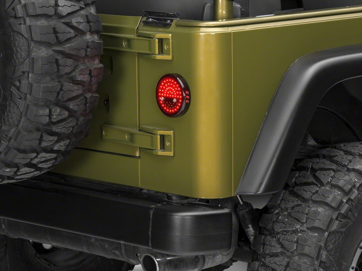 hight resolution of jeep wrangler litedots led tail lights 87 06 jeep wrangler yj tj this is what s on rj s jeep now