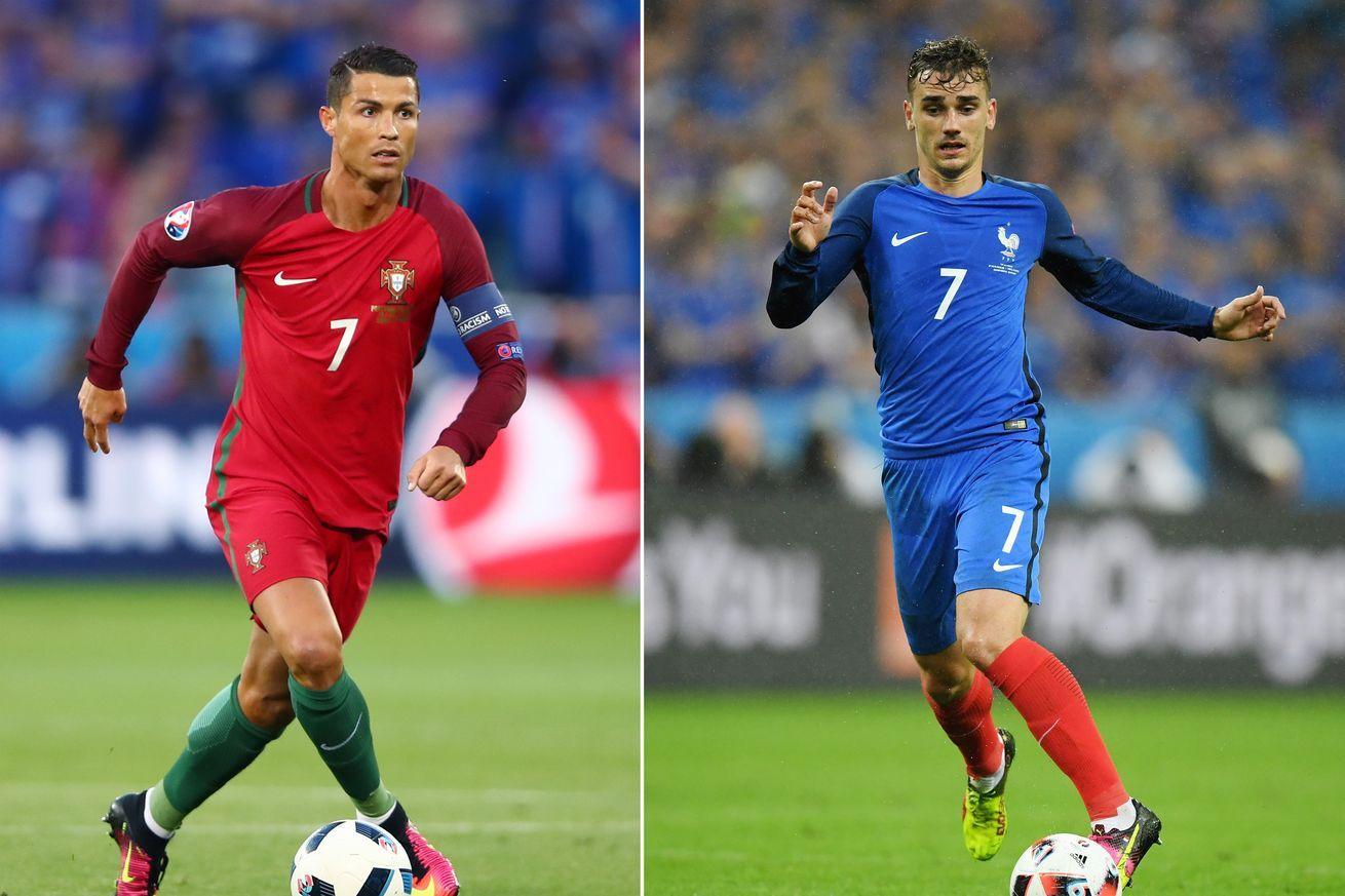 Euro 2016 final Portugal vs. France start time, TV