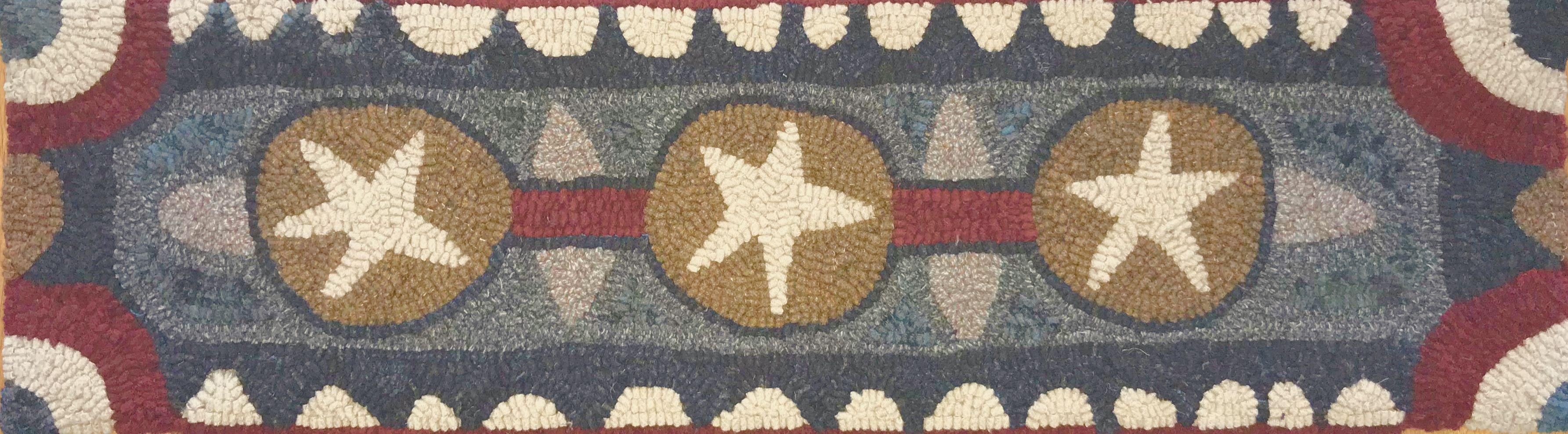 Pattern Designed By Darci Spilman From Woolen Folk Art Rug