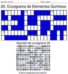 Juegos para aprender la tabla peridica tabla periodica crucigramas de elementos qumicos encuentra este pin y muchos ms en tabla periodica urtaz Image collections