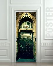 New Harry Potter DIY 3D Door Wall Mural Poster Decal Illusion Sticker Art Deco
