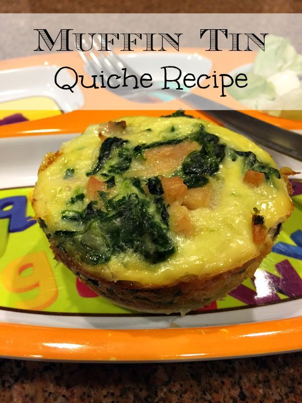 Easy mini quiche recipe that are made in muffin tins and just require a few…