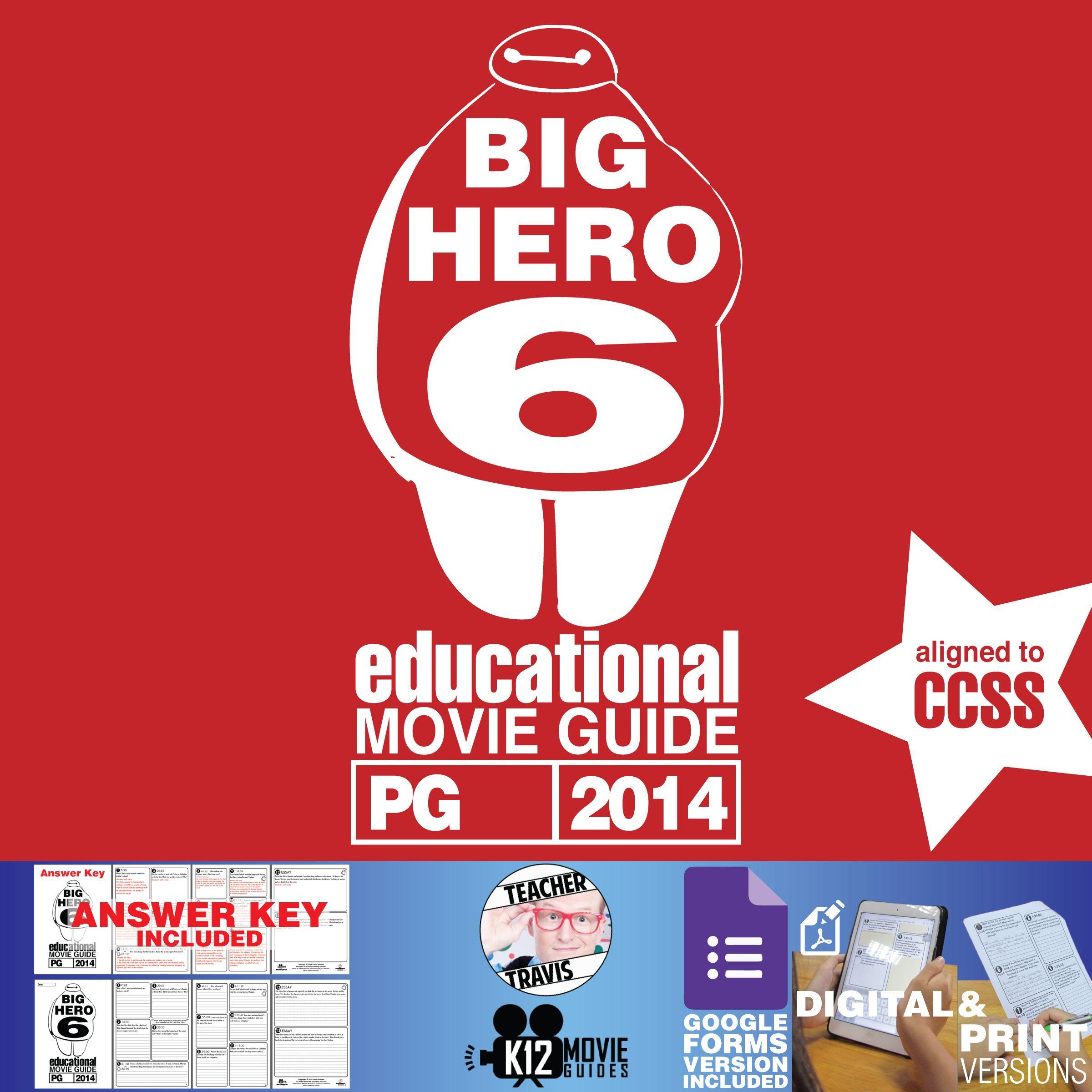 Big Hero 6 Movie Guide