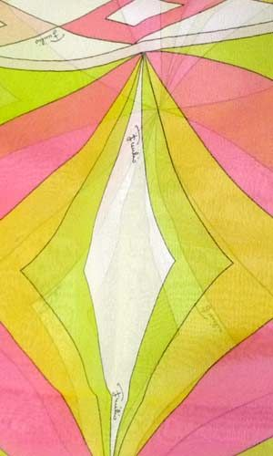 vintage pucci scarf ~ETS #pucci #scarf #patterns