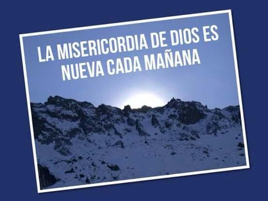 La Misericordia De Dios Es Nueva Cada Mañana La Misericordia De Dios Caminar Con Dios Dios