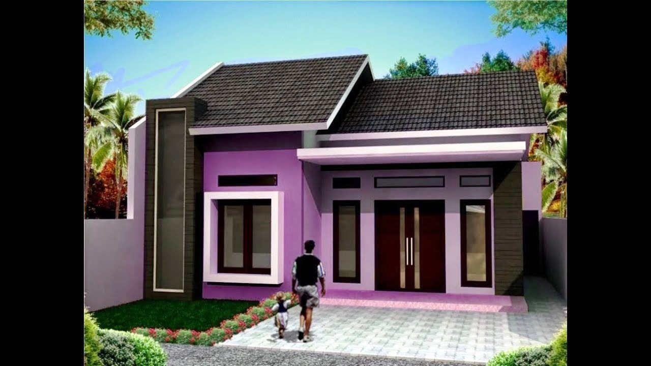 Warna Cat Rumah Minimalis 1 Lantai Sederhana Modern House