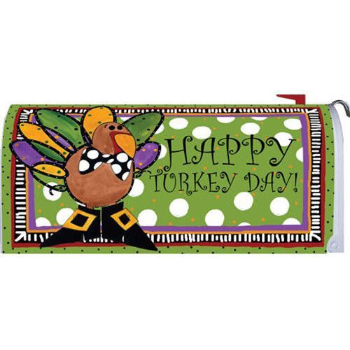 Whimsical Turkey Mailbox Cover