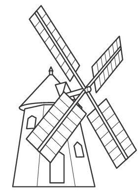 Recursos Y Actividades Para Educacion Infantil Molinos De Viento Molinos De Viento Quijote De La Mancha Viento Dibujo