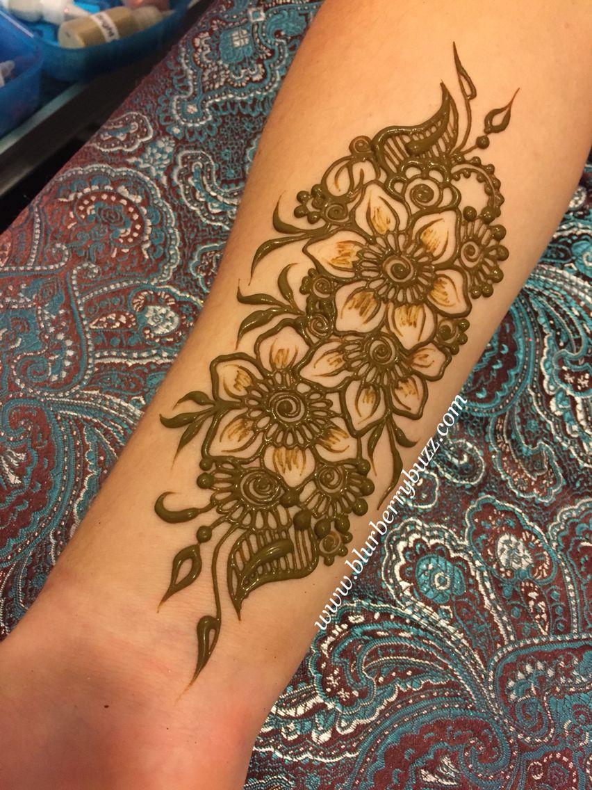 Henna Tattoo Body Designs: Henna By Victoria Welch Blurberrybuzz Body Art