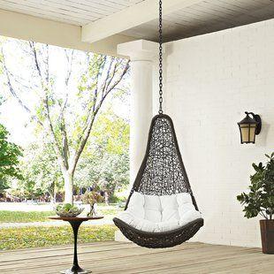 modway wayfair indoor outdoor living outdoor patio swing rh pinterest co uk