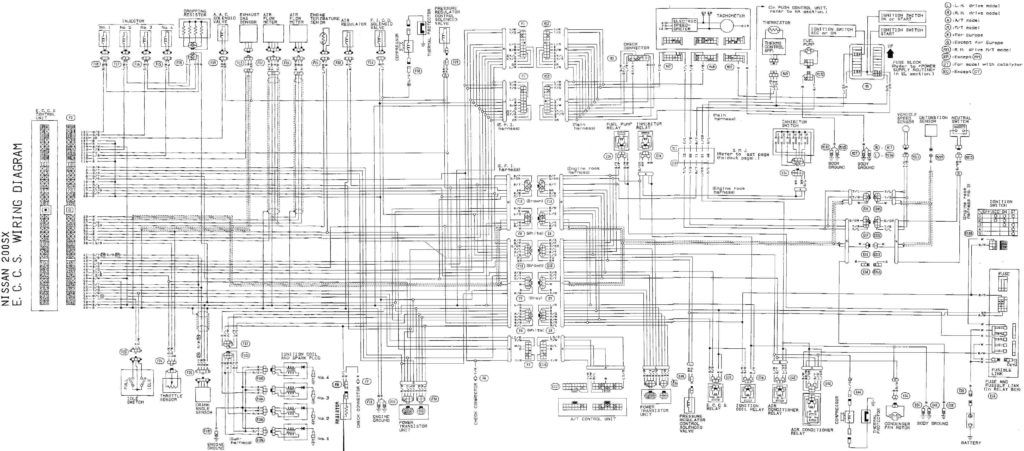 125004644 And Nissan Wiring Diagrams Diagram Picturesque