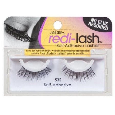 9029e282414 Andrea Redi-lash Self Adhesive Eyelashes, Style 53S, Black in 2019 ...