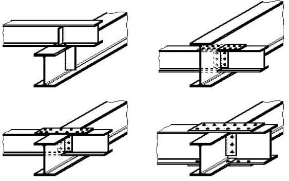 types of steel beam connections and their details on types of structural walls id=24247