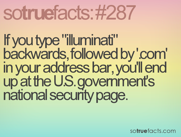 Illuminati Backwards Type Happens You If What