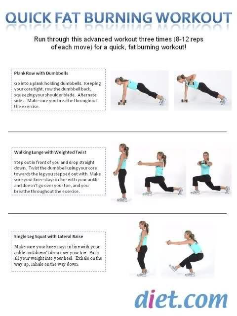 Fat Burning Workout Women
