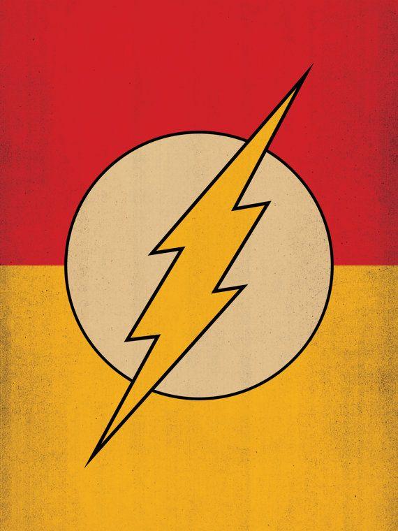 T l chargement num rique le super h ros flash par theretroinc geekery in 2019 superh roes - Flash le super heros ...
