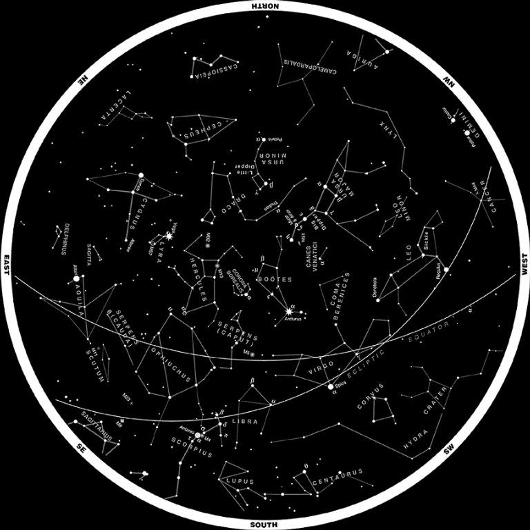 Great Site For Seniors Earning Their Sky Badge, With Star Charts