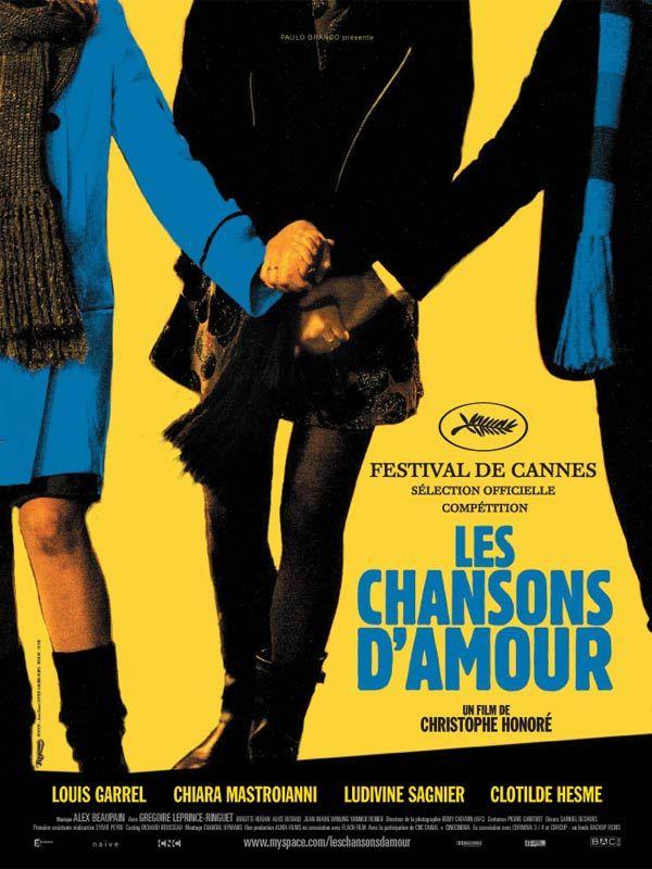 """Les chansons d'amour est un film de Christophe Honoré avec Louis Garrel, Ludivine Sagnier. Synopsis : Toutes les chansons d'amour racontent la même histoire : """"Il y a trop de gens qui t'aiment""""... """"Je ne pourrais jamais vivre s"""