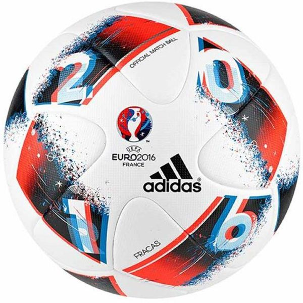 Other Soccer Clothing And Accs 159179 Adidas Uefa Euro 2016 Official Match Soccer Ball Wht Brght Blue Solar Red Ao4851 B Soccer Ball Soccer Adidas Football