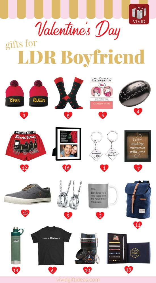 Creative valentines day gifts for long distance relationships